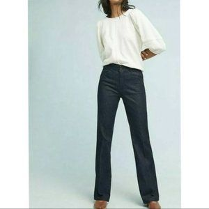 Anthropologie Essential Trousers Bootcut Jeans 10